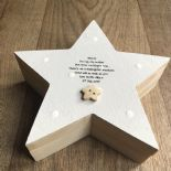 Shabby Chic Goddaughter Christening gift Trinket Keepsake box personalised